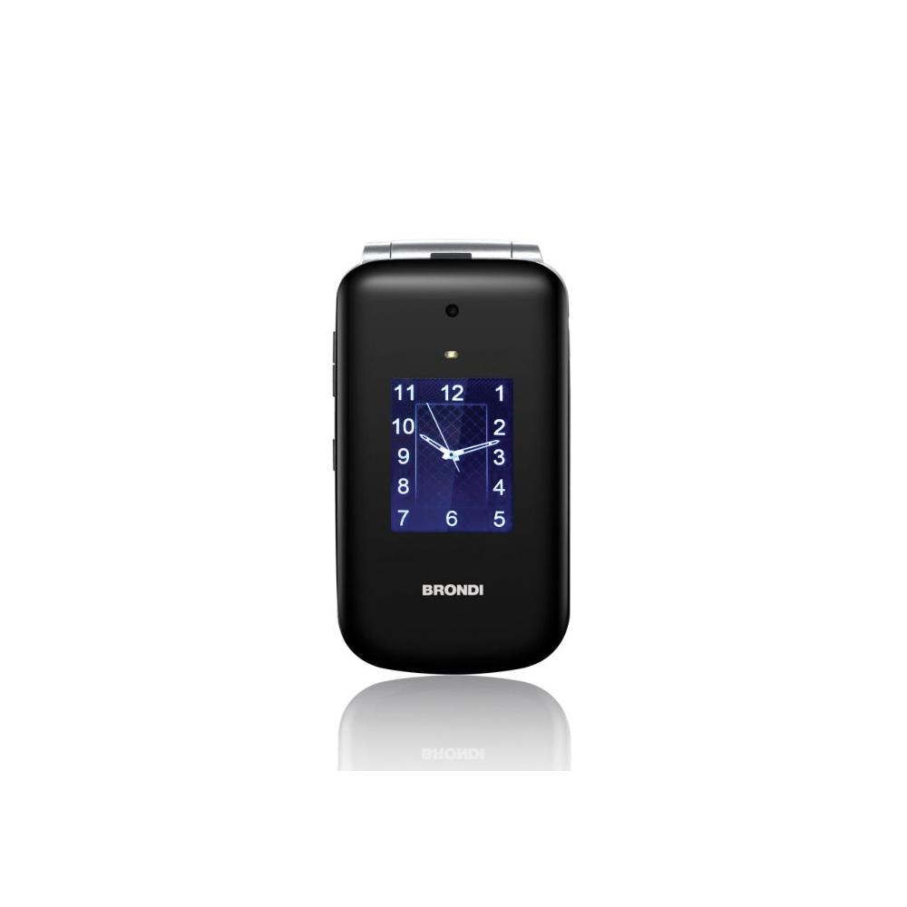 Cellulare brondi amico senior dual sim con tecnologia amplivox di colore nero foto 4