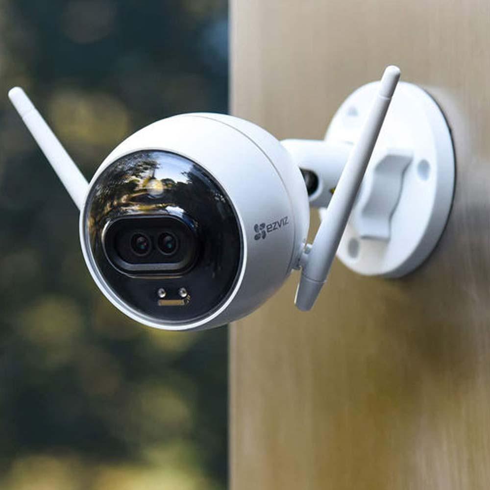 Smart camera per esterno Ezviz C3X con doppia lente Wi-Fi Lan doppia antenna foto 3