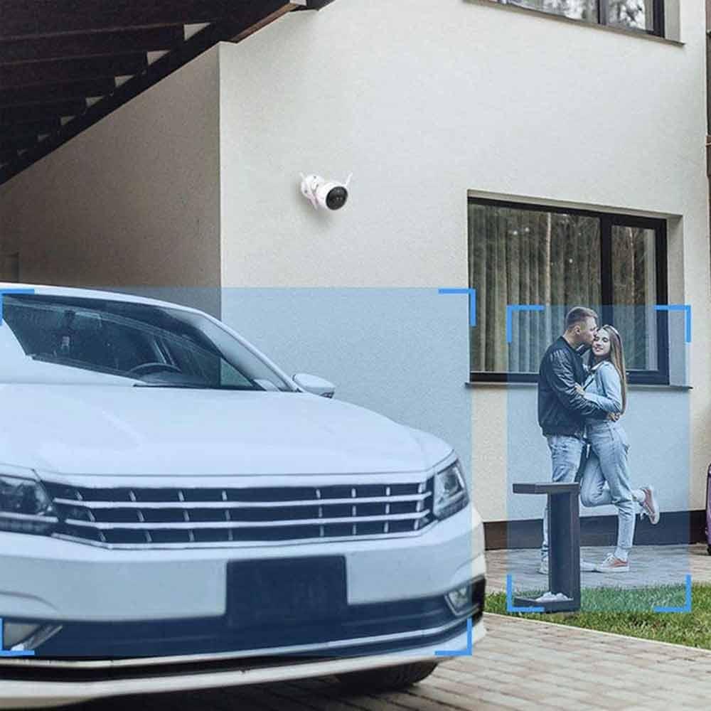 Smart camera per esterno Ezviz C3X con doppia lente Wi-Fi Lan doppia antenna foto 5