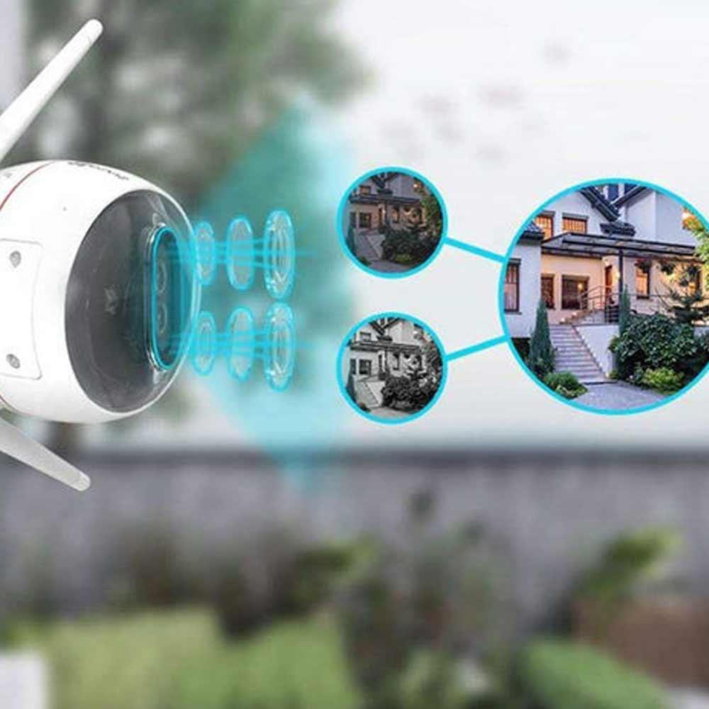 Smart camera per esterno Ezviz C3X con doppia lente Wi-Fi Lan doppia antenna foto 6