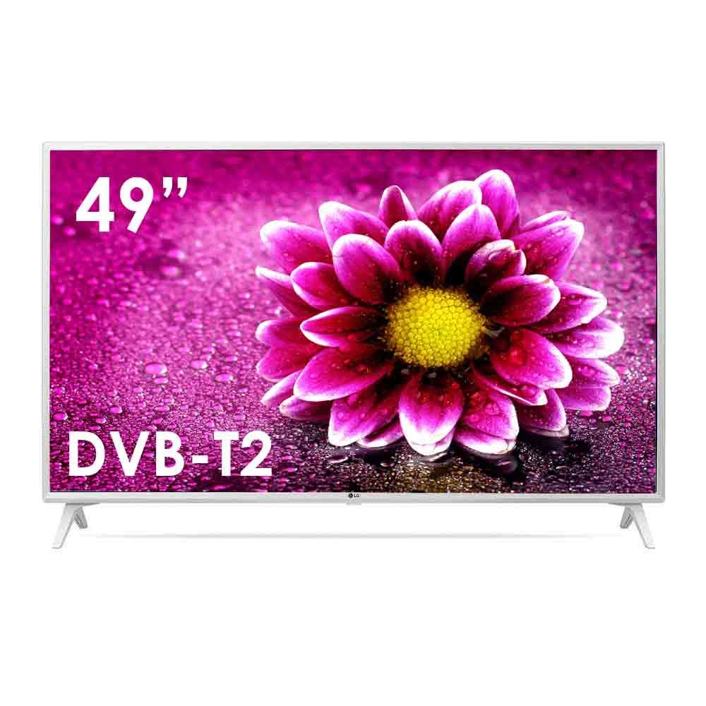 Tv smart lg da 49 pollici ultra hd 4k dvb-t2 webos wi-fi lan 49un73903le