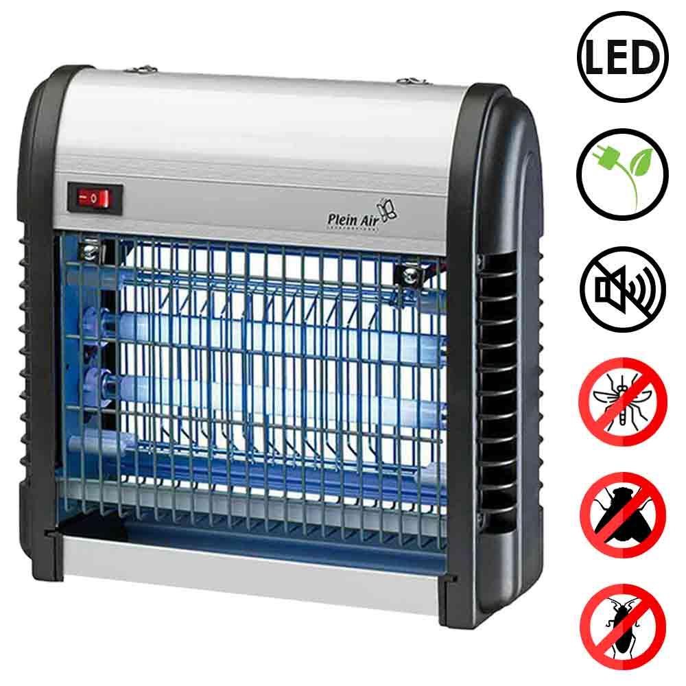 Zanzariera elettroinsetticida zanzare lanterna lampada 12w 2 bulbi led 6w zap 12