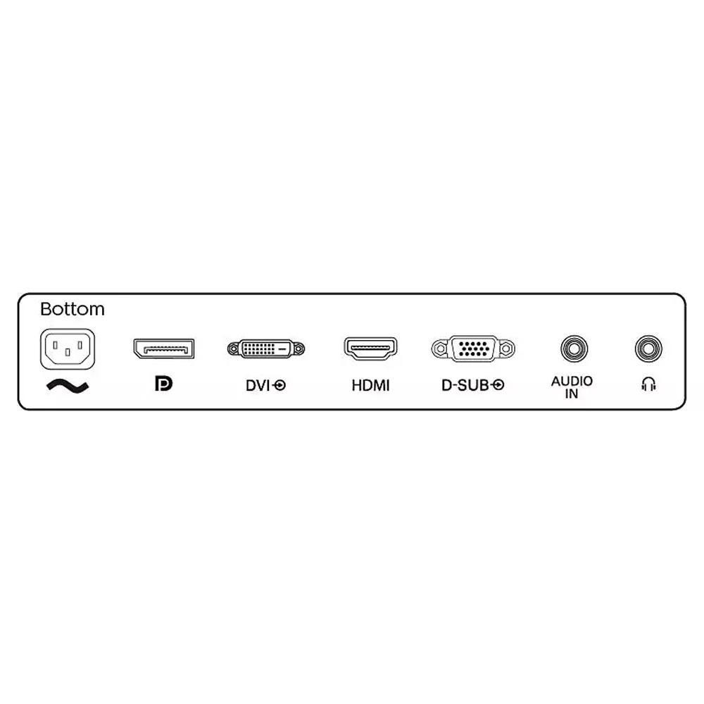 Monitor Philips S Line 27 pollici FHD VGA HDMI DisplayPort DVI 4ms con speaker foto 6