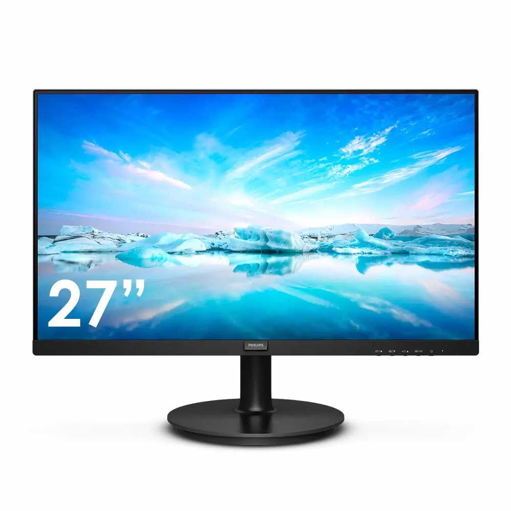 Monitor Philips V Line 27 pollici FHD VGA HDMI 4ms con speaker compatibile MacOS foto 2