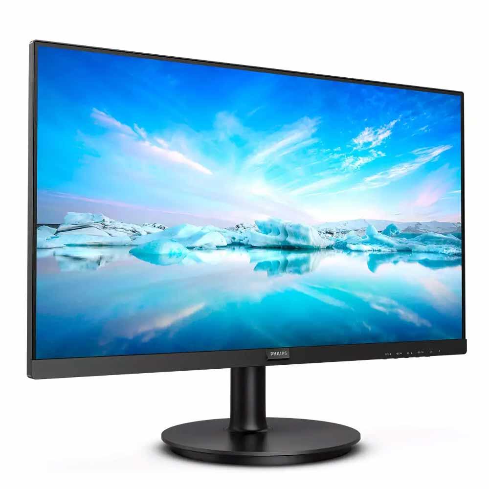 Monitor Philips V Line 27 pollici FHD VGA HDMI 4ms con speaker compatibile MacOS foto 3