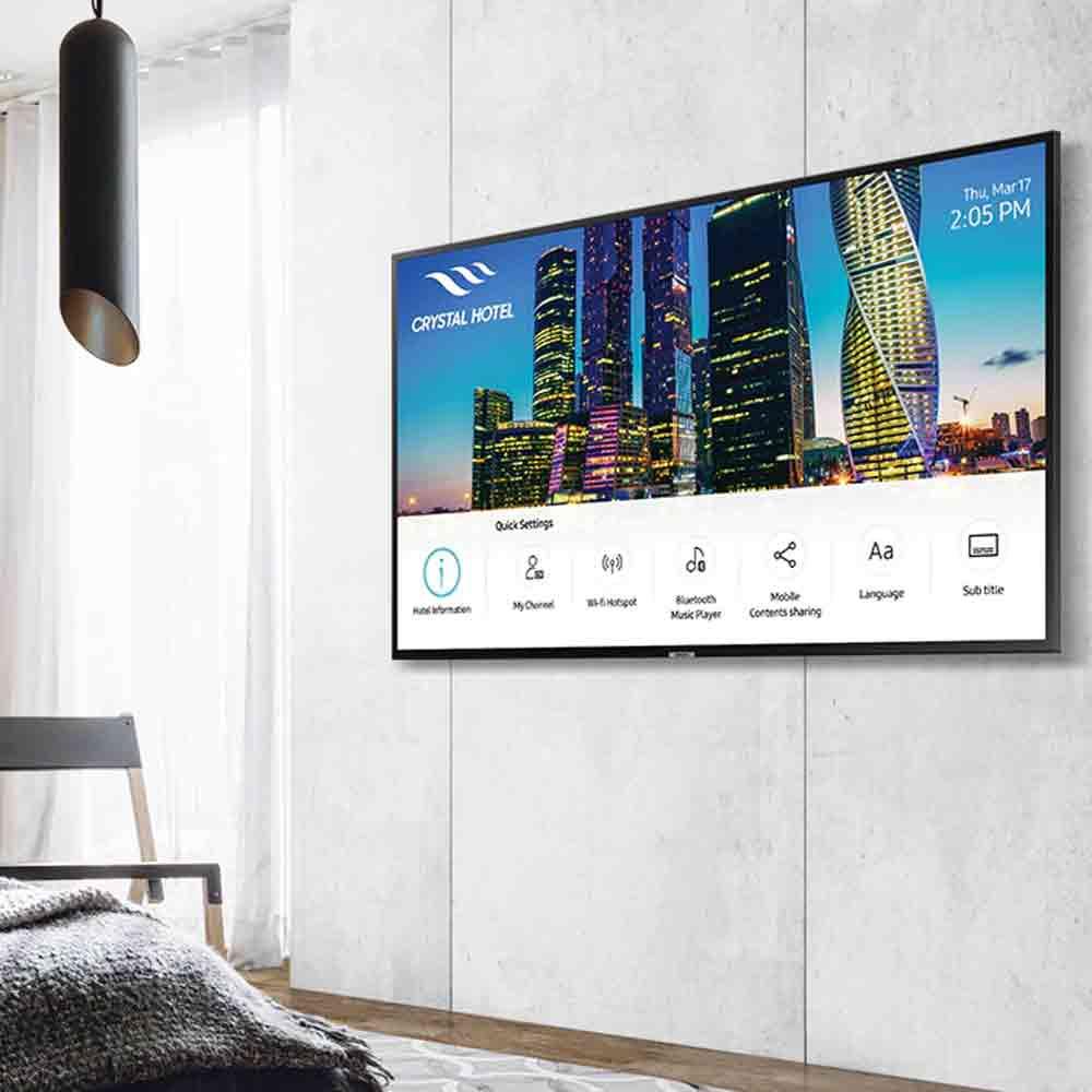 Hotel TV Samsung HJ690U HDR10+ UltraHD 4K LED 49 pollici DVB-T2 Wi-Fi Nero  foto 5