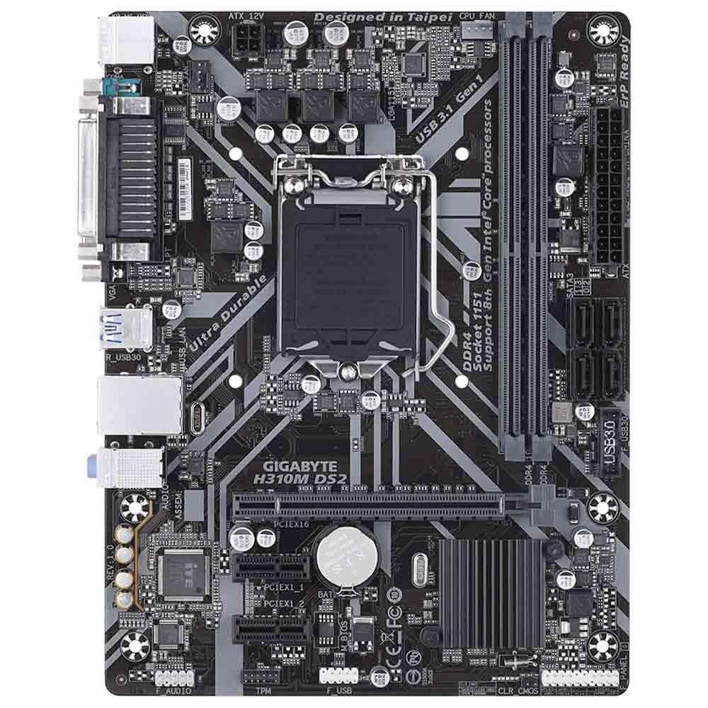 Scheda Madre socket intel 1151 v2 Gigabyte H310M-DS2 foto 3