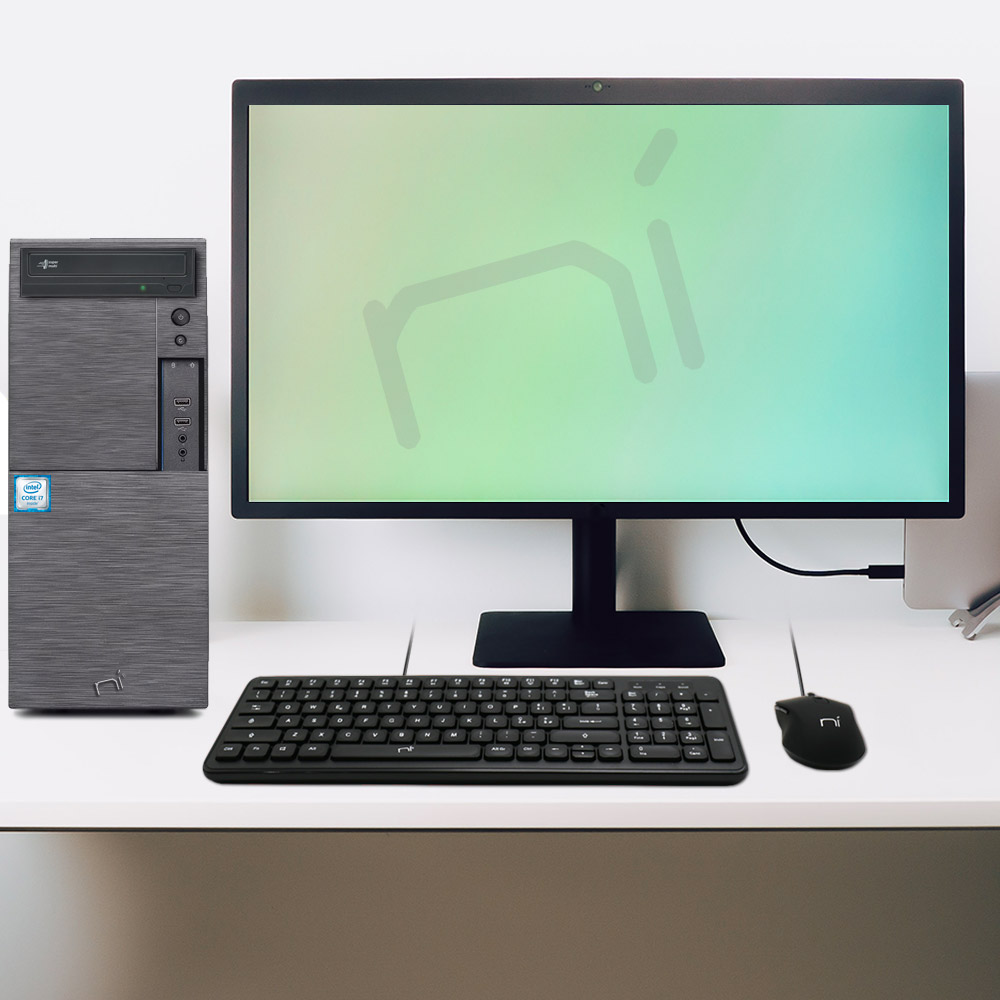 Computer Pc fisso i7 quad core windows 10 pro 16gb ram, ssd 240gb, hd 1tb, WiFi foto 5