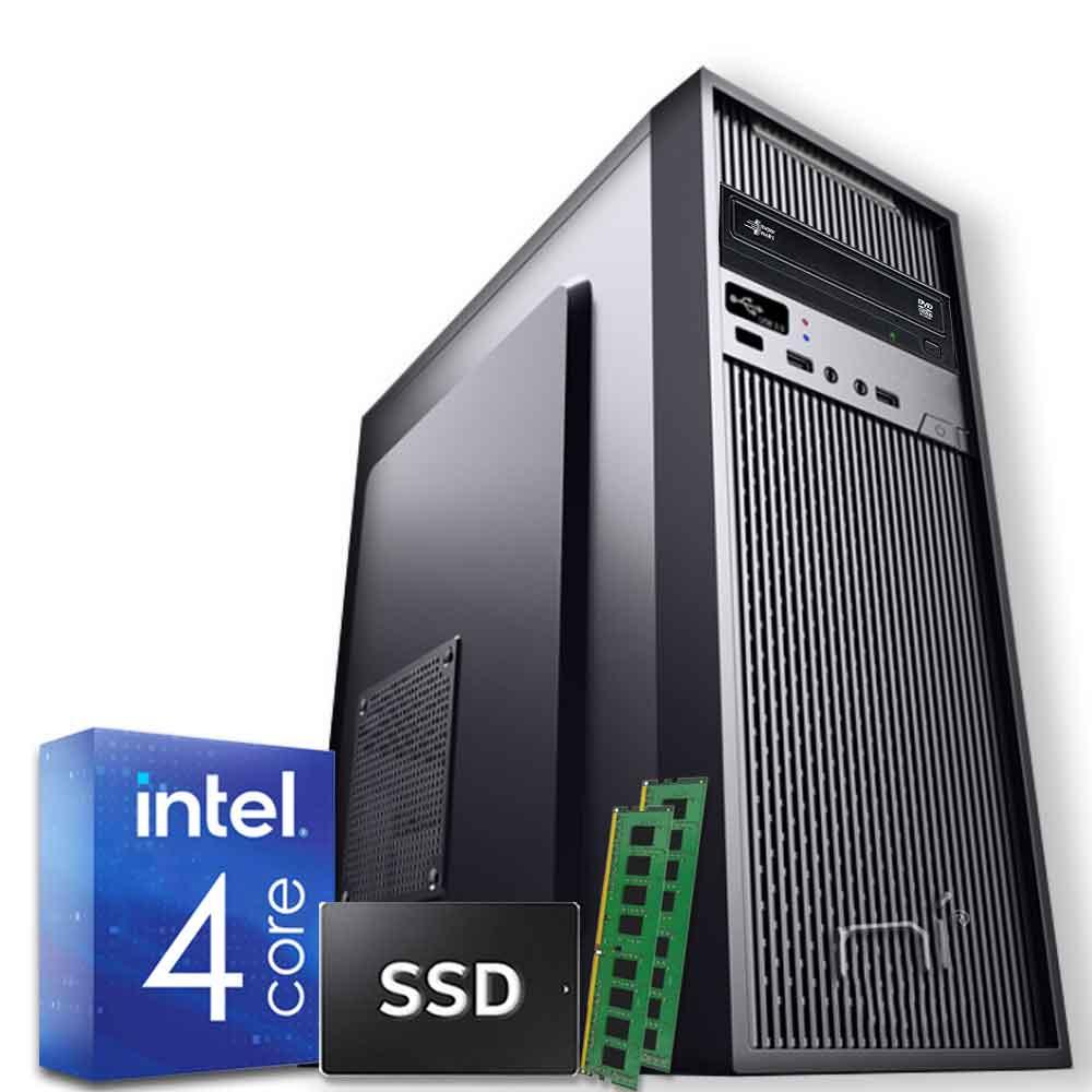 Pc desktop windows 10 intel quad core 16gb ram ddr4 ssd 120gb wifi hdmi
