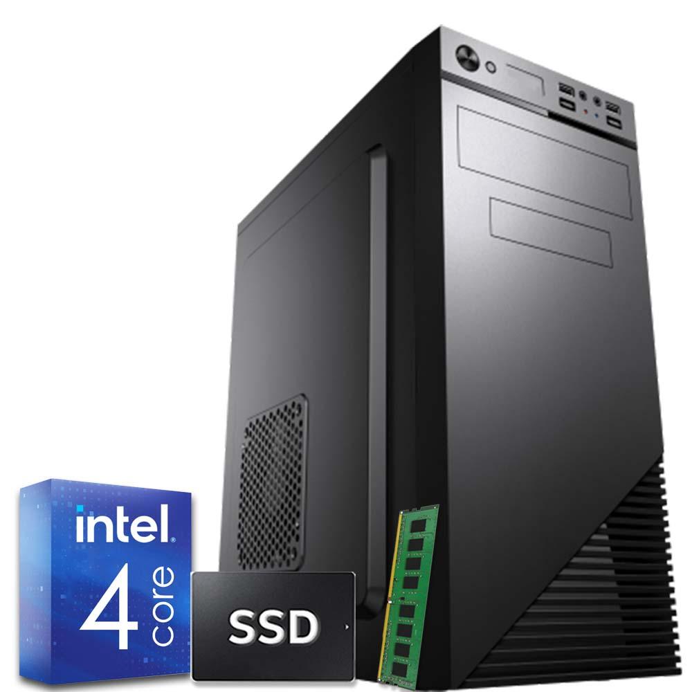Pc fisso Windows 10 Intel quad core 8gb ram DDR4 ssd 240gb WiFi HDMI foto 2