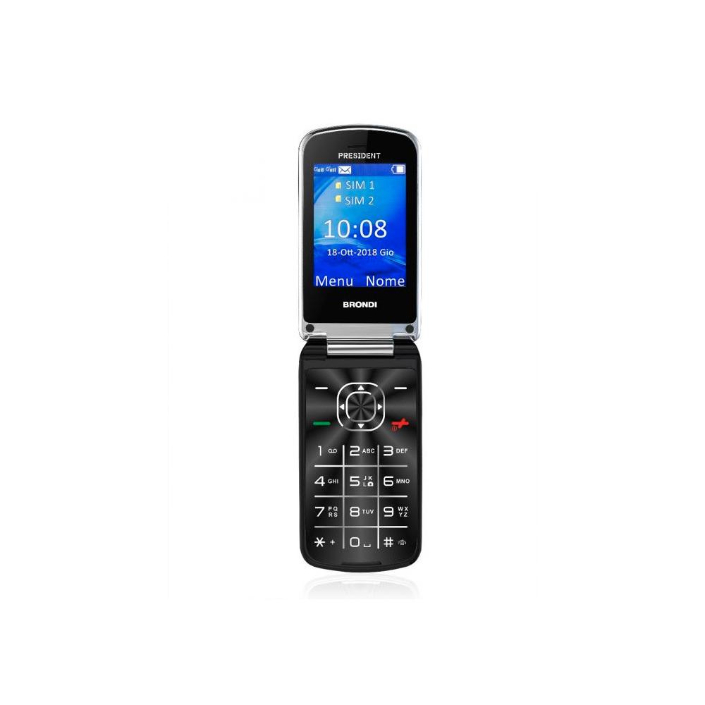 Cellulare president dual sim dal design Ultra Sottile e con Icone LED sul Flip
