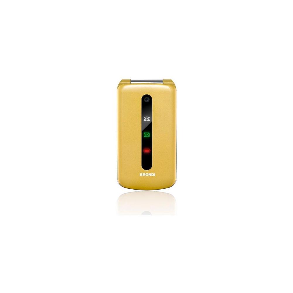 Cellulare president gold dual sim design Ultra Sottile e con Icone LED sul Flip