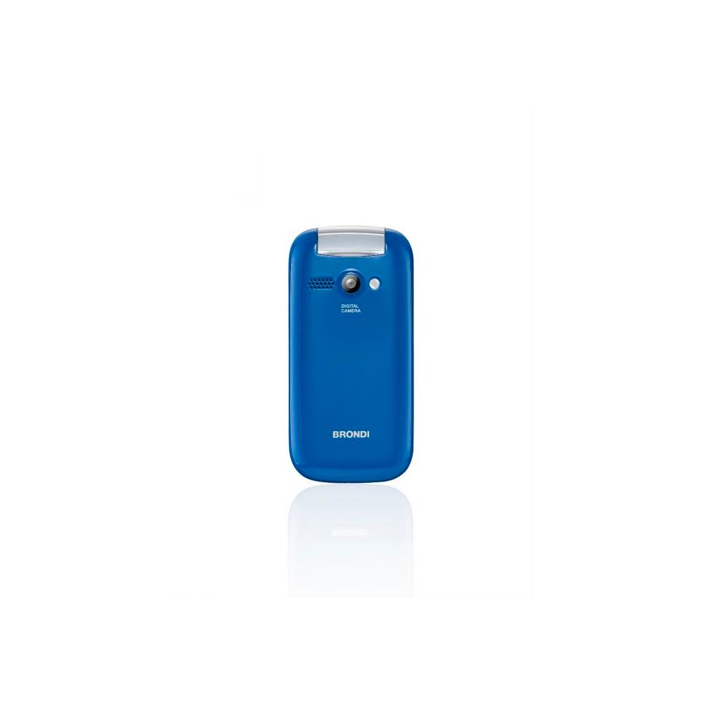 Telefono Cellulare Brondi stone gsm con apertura a conchiglia azzurro dualsim foto 6