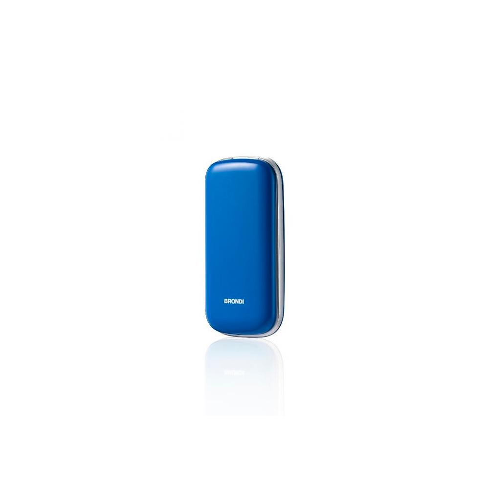 Telefono Cellulare Brondi stone gsm con apertura a conchiglia azzurro dualsim foto 4