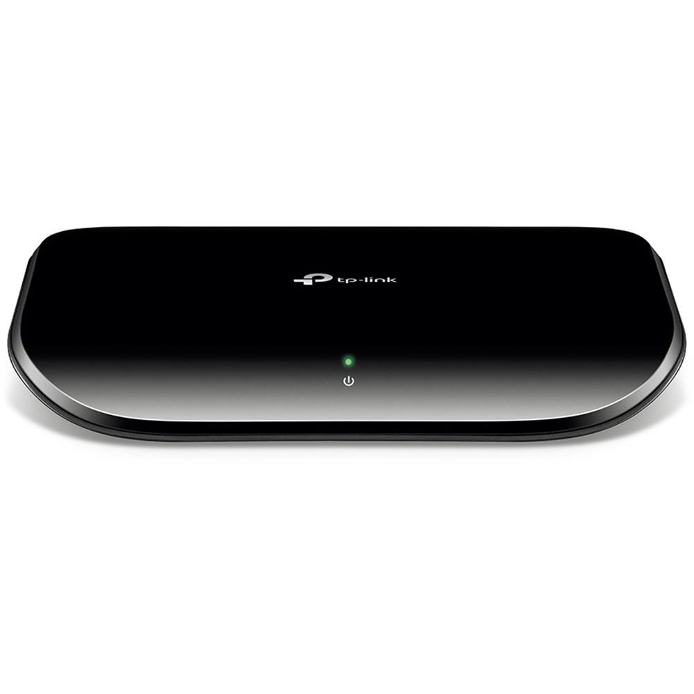 Switch lan gigabit 5 porte tp-link tl-sg1005d per rete locale nas telecamere ip