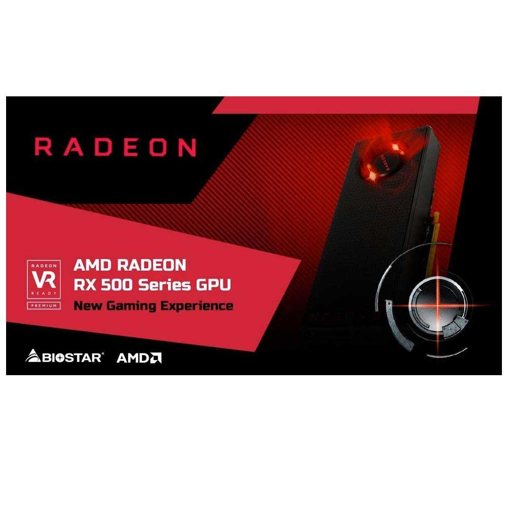Scheda video biostar ati radeon rx550 4GB HDMI, Diplay-Port, DVI foto 6