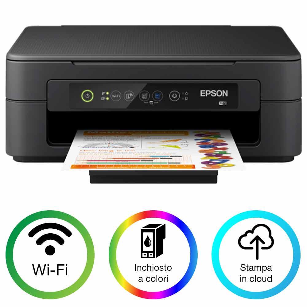 Stampante multifunzione ad inchiosto epson xp-2100 wifi fotocopiatrice a colori foto 2
