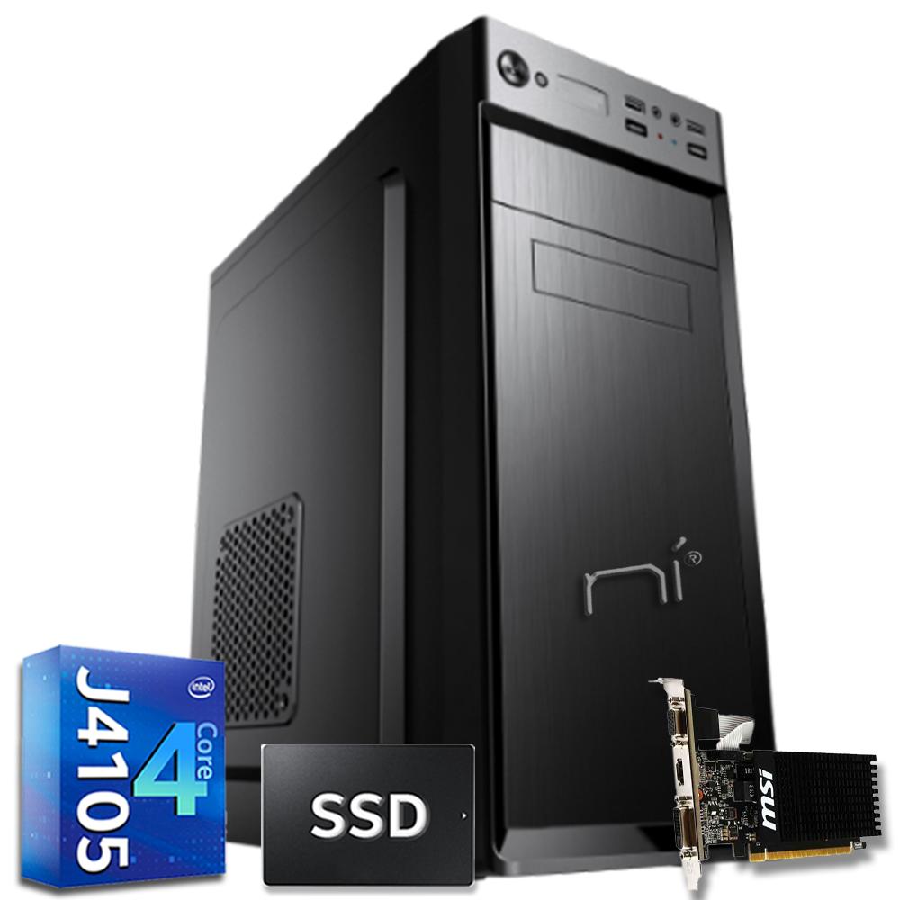 Pc fisso Pulsar Intel quad core 16gb ram DDR4 ssd 240gb nvidia gt 710 WiFi HDMI foto 2