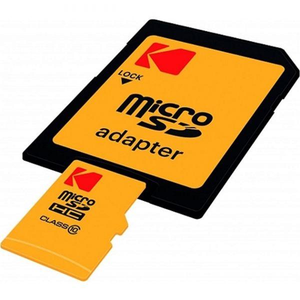 SD MICRO 64GB CL10 EXTRA CON ADATT. KODAK