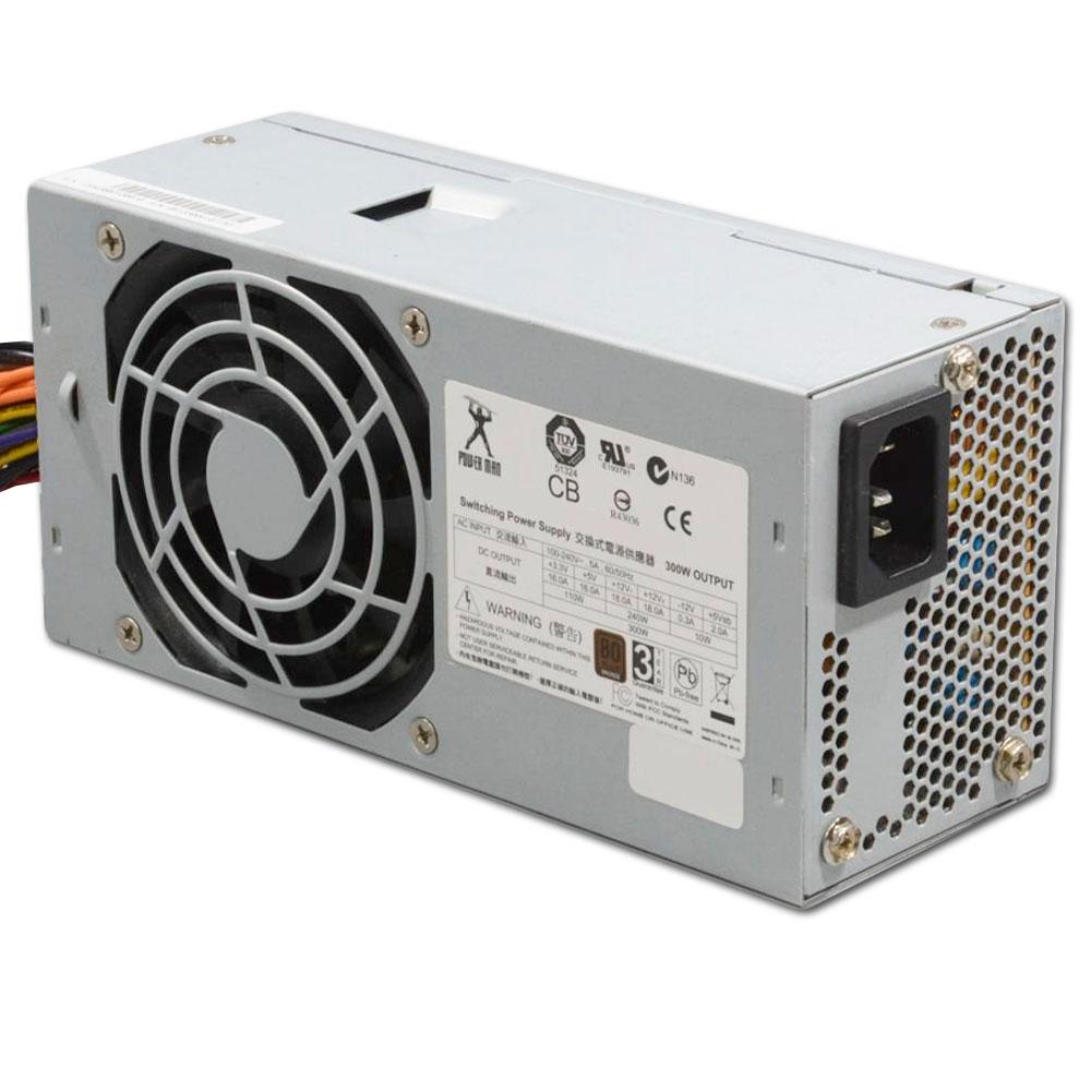 POWER MAN Power Supply 300W PSU IP-S300EF7-2 Mini ITX Alimentatore TESTED foto 4
