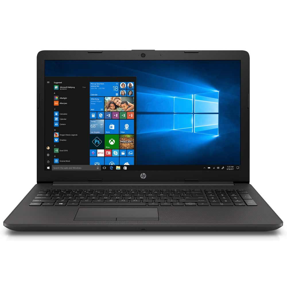 Notebook hp 255 g7 15,6 ryzen 3 3200u 8gb ram ssd 256gb windows 10 150c0ea