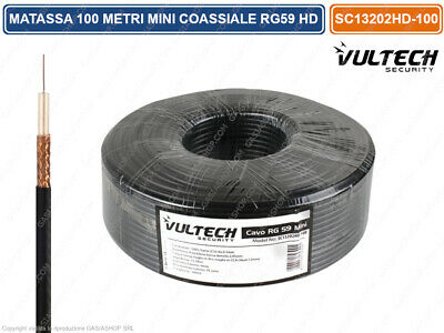 Cavo rg59 mini  100mt 4mm sc13202hd-100