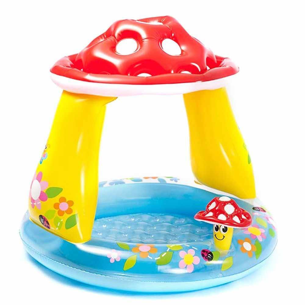 Piscina gonfiabile per bambini baby fungo 102x89 cm intex 57114