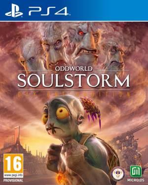 Ps4 oddworld: soulstorm d1 version steel book