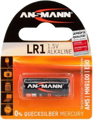 Ansmann batteria lr1/1.5v alcalina