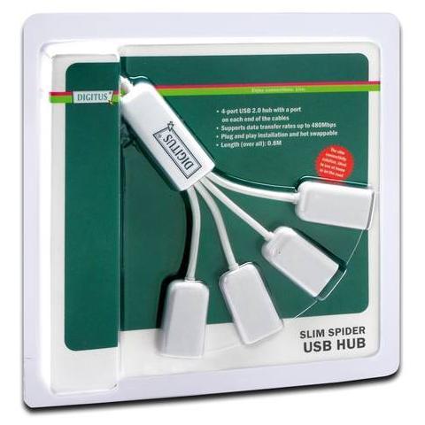 HUB DIGITUS DA-70216 - 4PT USB2.0
