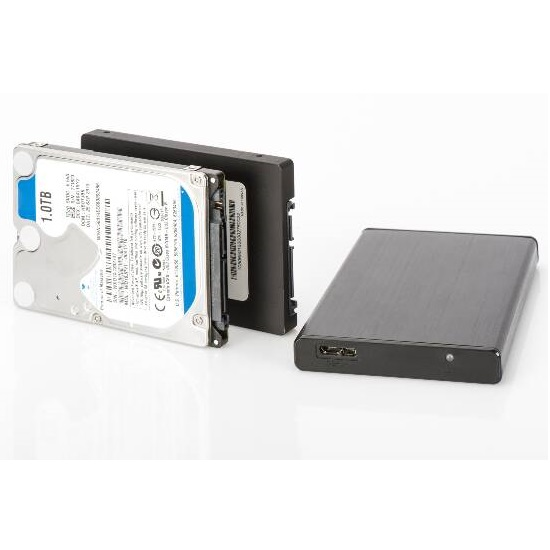 BOX ESTERNO DIGITUS DA-71105 - USB 3.0 PER HD/SSD 2.5\
