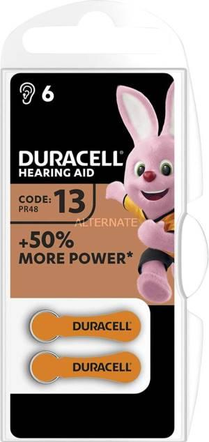 Duracell activeair batterie acustiche medical da13 6pz