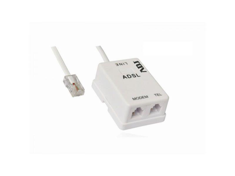 FILTRO ADSL SPLITTER RJ11 WH ITA VERSION ADJ foto 2