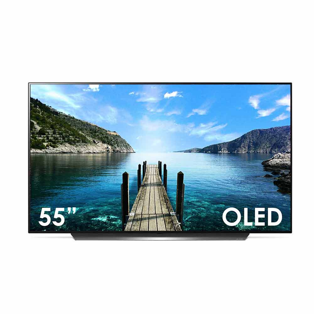 Smart tv lg oled da 55 pollici ultra hd 4k dvb-t2 webos wi-fi lan oled55cx.