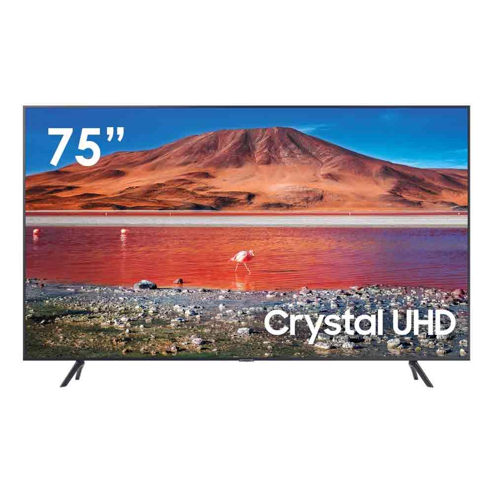 Smart tv samsung series 7 4k 75 pollici con tizen dvb-t2 wi-fi lan ue75tu7172u