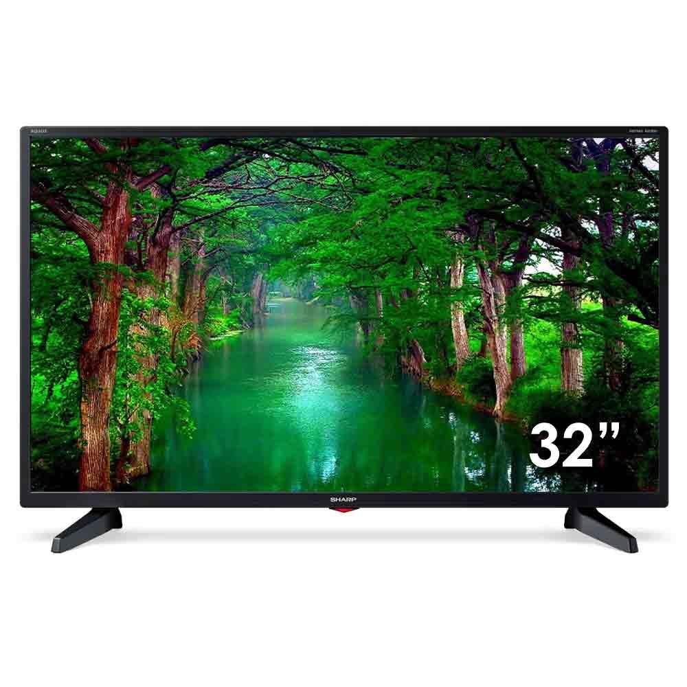 Televisore Sharp Aquos 32 pollici LED Full HD Ready Audio Dolby Digital DVB-T2 foto 2