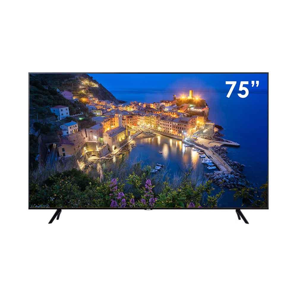Televisore smart samsung series 7 4k 75 pollici con tizen dvb-t2 wi-fi lan.