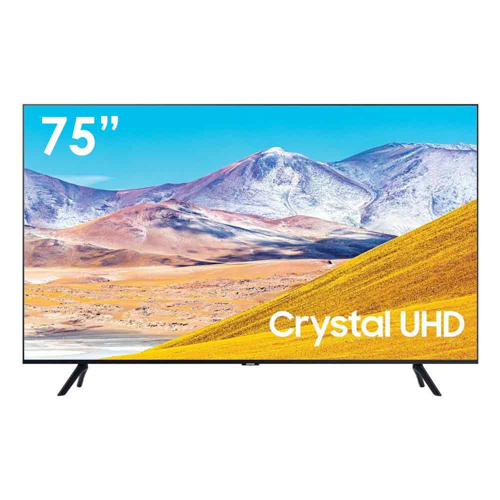 Televisore Smart Samsung Ultra HD 4K 75 pollici con Tizen DVB-T2 Wi-Fi Lan foto 2