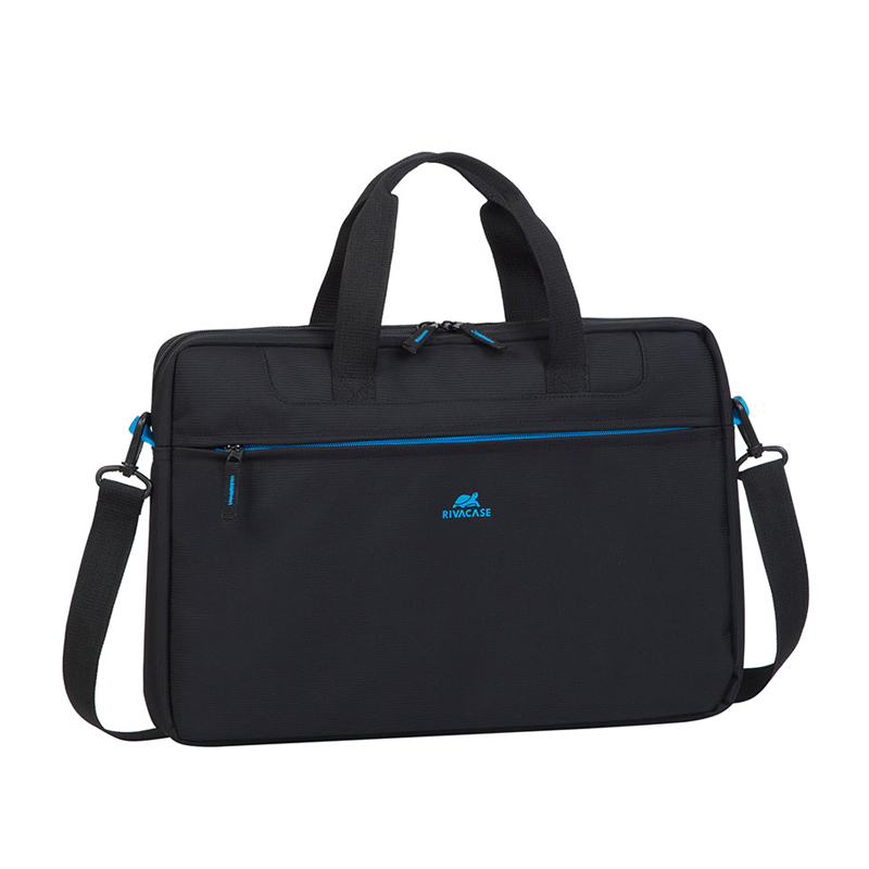 BORSA PER NOTEBOOK RIVACASE 8037 BLACK IN POLIESTERE 15.6\