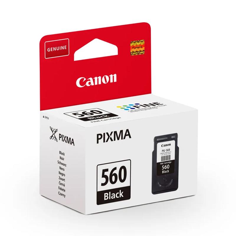 CARTUCCIA ORIGINALE CANON PG-560 BLACK 3713C001