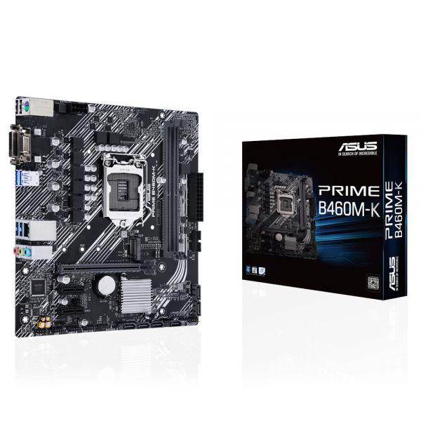 MB ASUS PRIME B460M-K S1200 2D4 6S3 M.2 GBL U3.2 VGA/DVI OPTANE