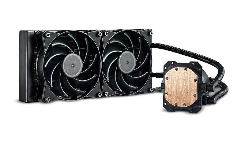 VENTOLA MASTER LIQUID LITE 240 LGA 775>2066 AMD AM4>FM1 210W