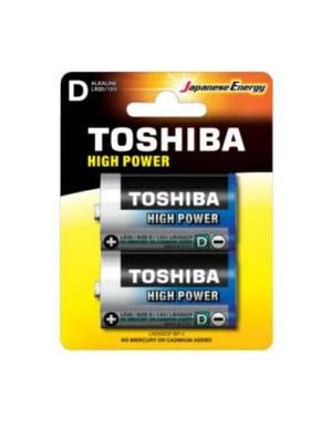 Toshiba batterie torcia lr20gcp bp-2 d alcaline 2pz