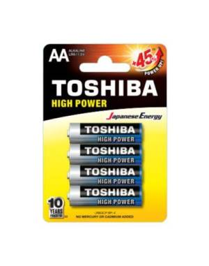 Toshiba batterie stilo lr6gcp bp-4 aa alcaline 4pz