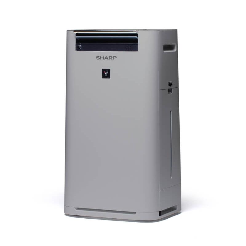 AIR PURIFIER SHARP UA-HG40E-L GRIGIO CHIARO - Hepa Filter PlasmaCluster 240 M3/H UMIDIFICATORE 400 ML/H
