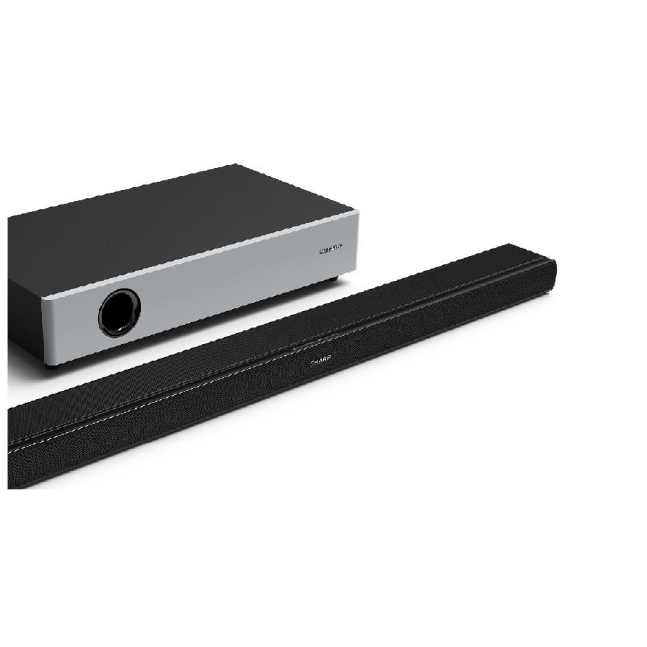 WIRELESS HOME THEATRE SYSTEM 2.1 ULTRA SLIM SHARP HT-SBW160 - 360 WATT HDMI BLUETOOTH