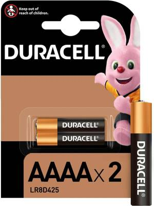 Duracell specialistiche batterie micro stilo lr8d425 mn2500 aaaa 2pz