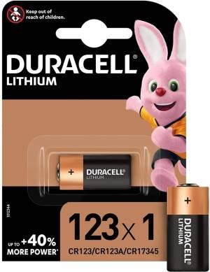 Duracell specialistiche batteria dl123 cr123/cr123a/cr17345 1pz