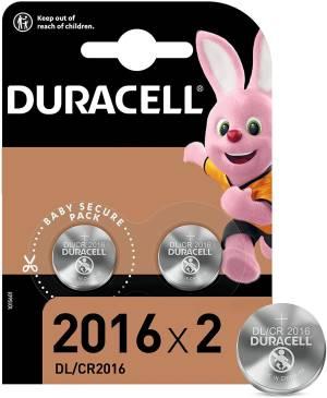 Duracell lithium batterie bottone dl/cr2016 2pz