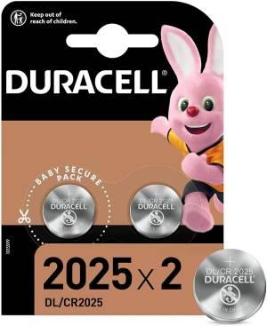 Duracell lithium batterie bottone dl/cr2025 2pz